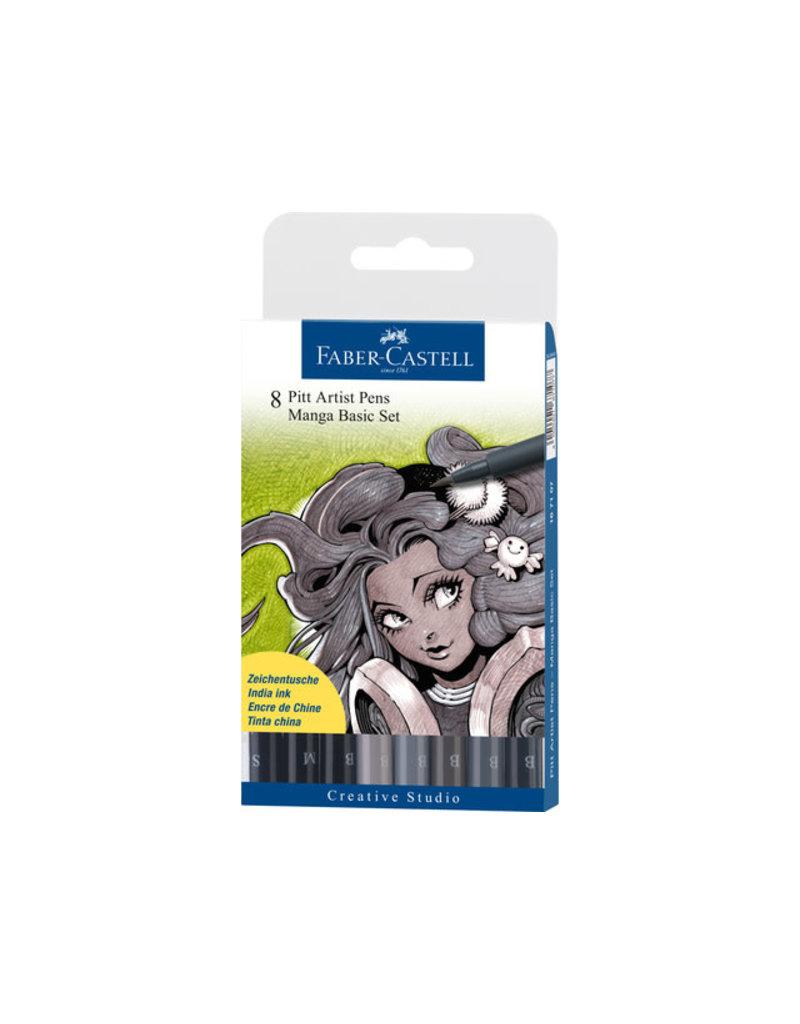 Faber Castell Manga basic set