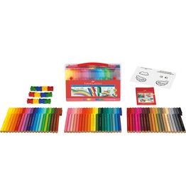 Faber Castell Case with 60 felt-tip pens