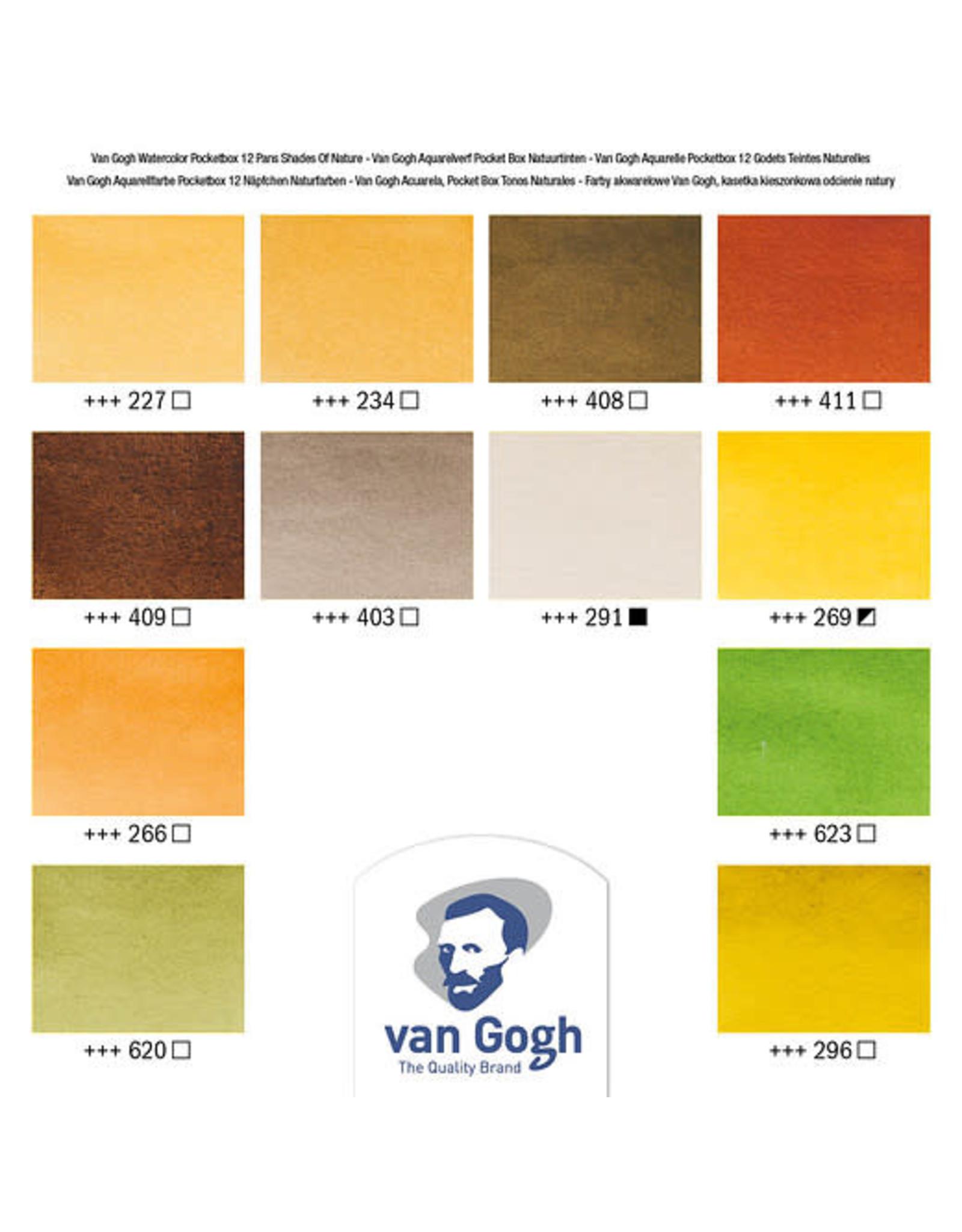 Van gogh Van Gogh pocket box shades of nature