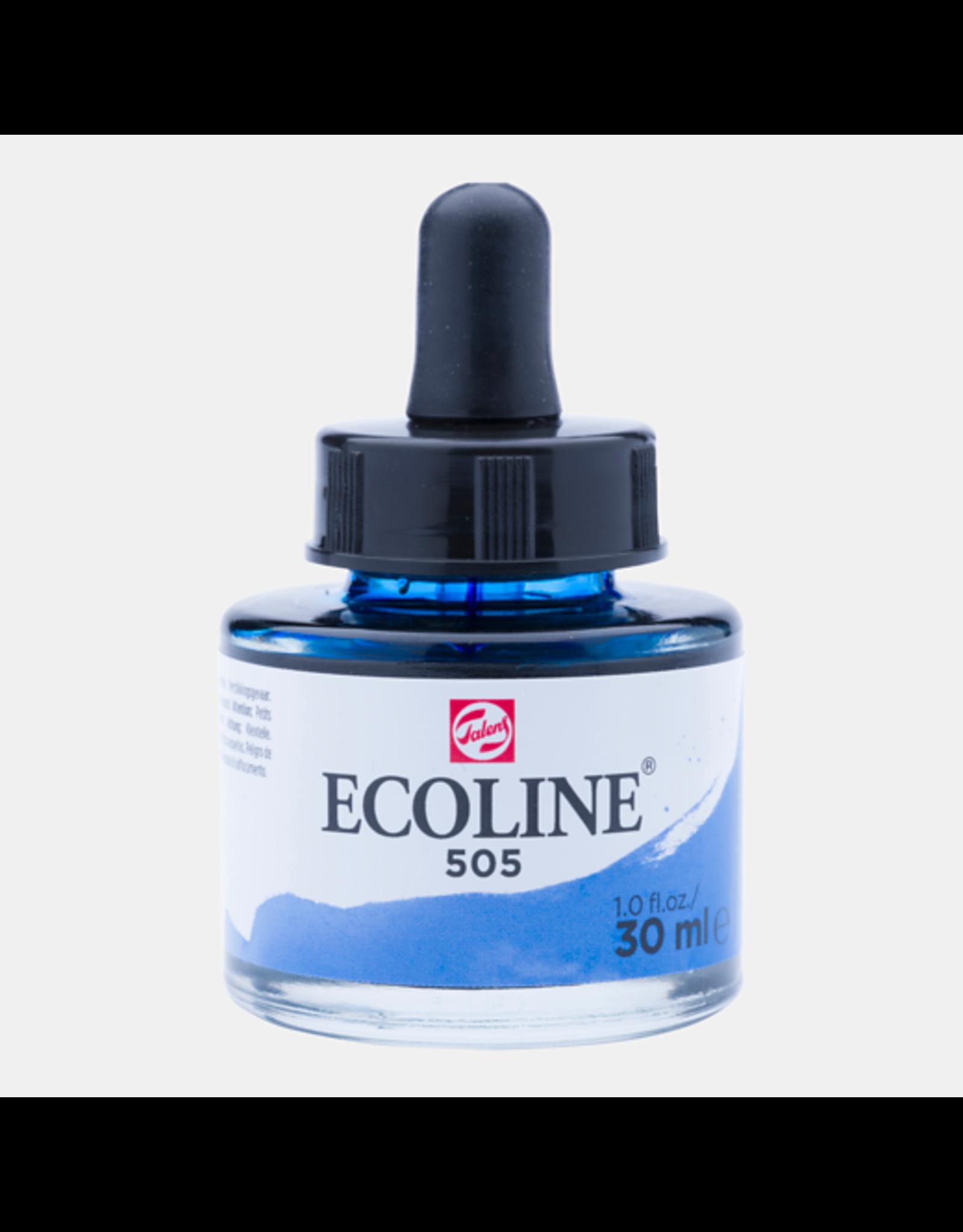 Talens Ecoline 30 ML. Ultramarijn licht