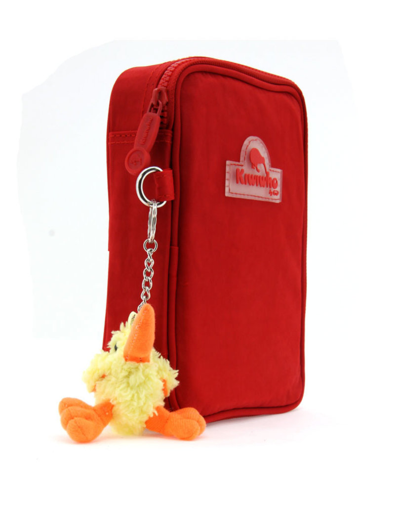 Kiwiwho Pencil box red