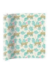 Wrapping paper tiger