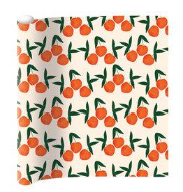 Wrapping paper orange