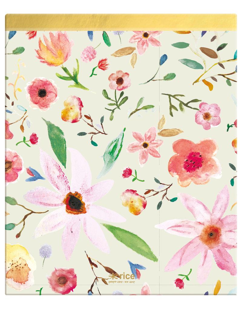 Ringmap flower aquarel