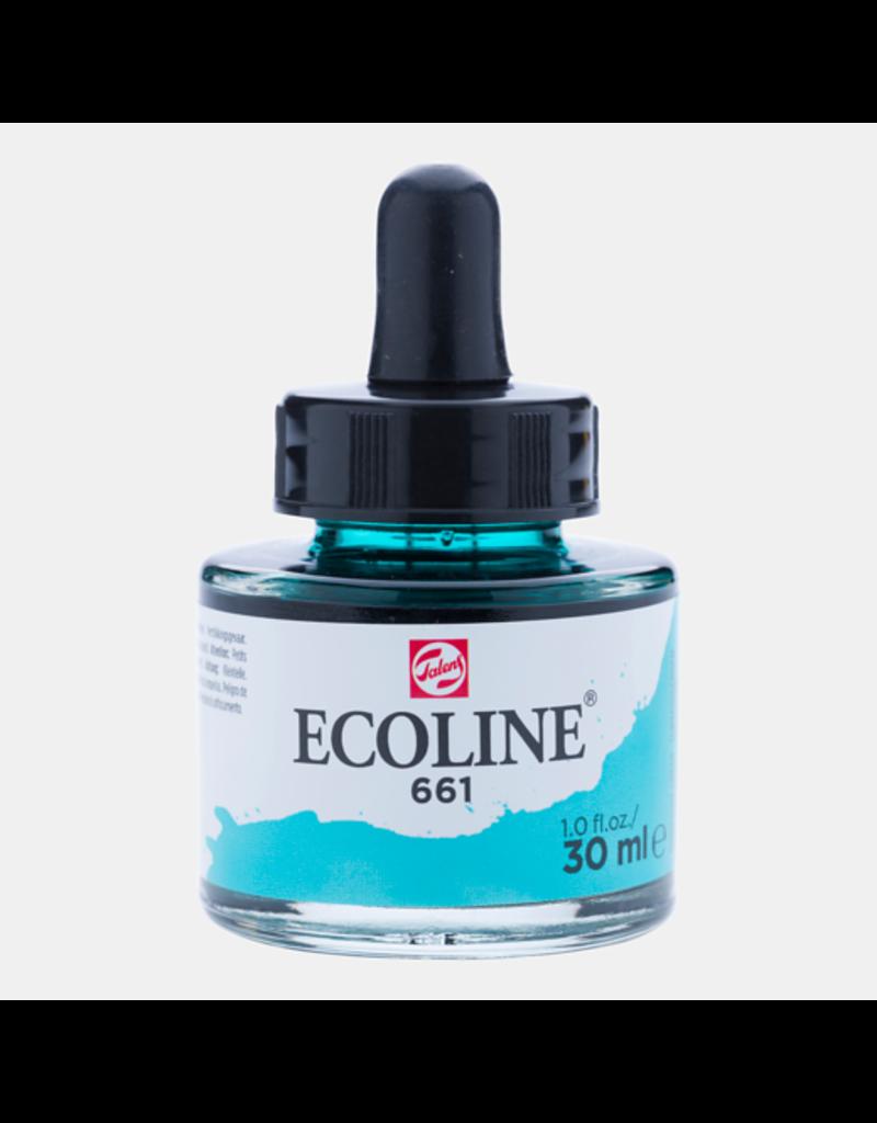 Talens Ecoline 30 ML. Turkoois groen 661