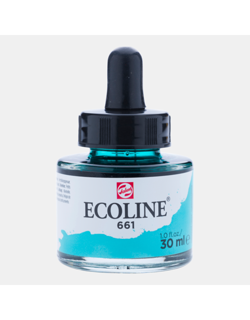 Talens Ecoline 30 ML. Turquoise green