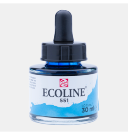 Talens Ecoline 30 ML. Sky blue light