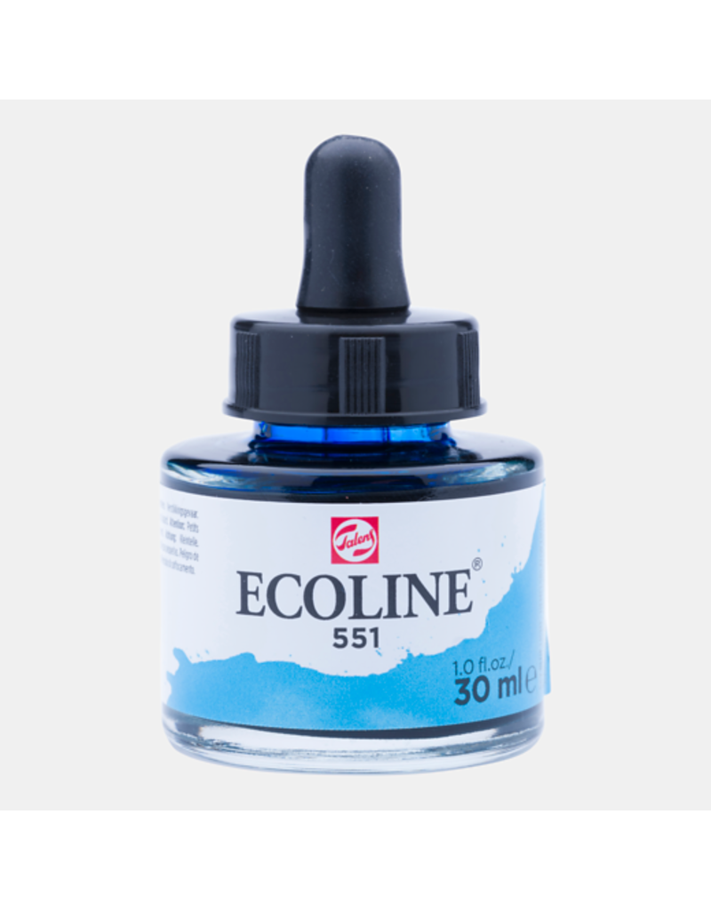 Talens Ecoline 30 ML. Sky blue light