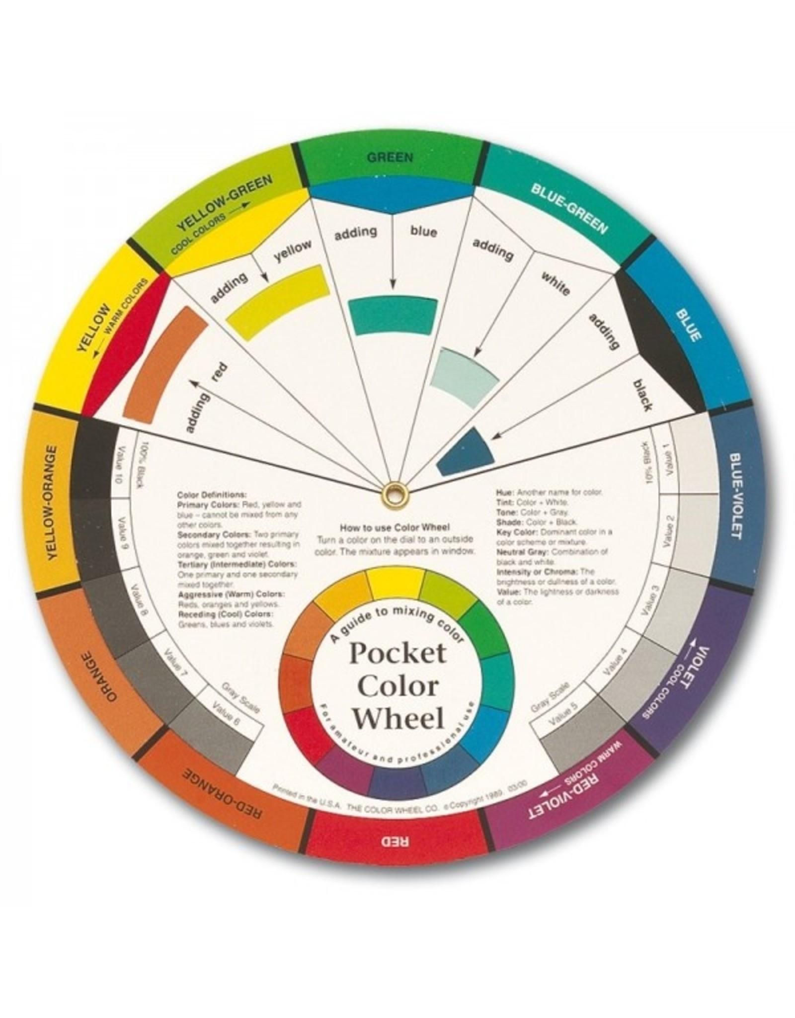 Draaien aan het kleurenwiel - dinsdag 10/11 van 19.30u tot 21.30u