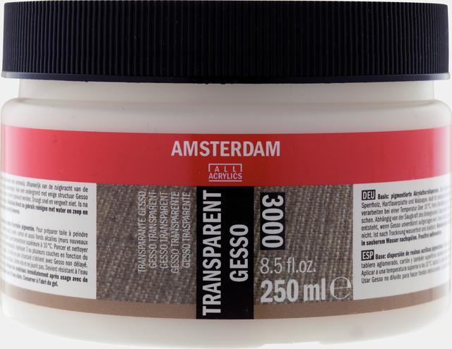 Amsterdam gesso transparant 250 ml
