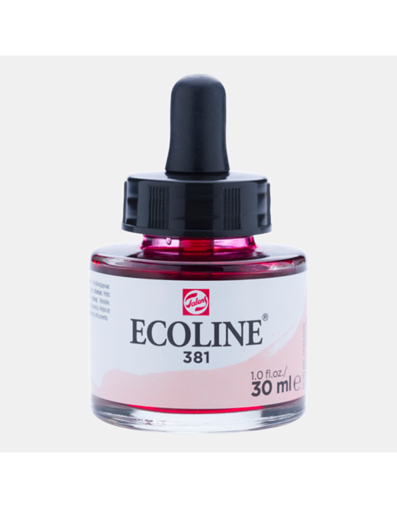 Talens Ecoline 30 ML. Pastelrood