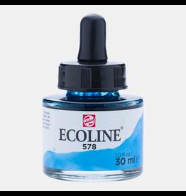 Talens Ecoline 30 ML. sky blue cyan