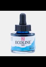 Talens Ecoline 30 ML. Hemelsblauw licht