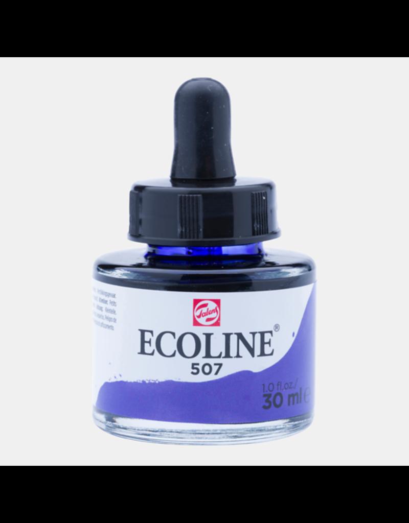 Talens Ecoline 30 ML. Ultramarijn violet