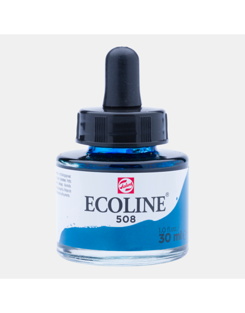 Talens Ecoline 30 ML. Prussian blue