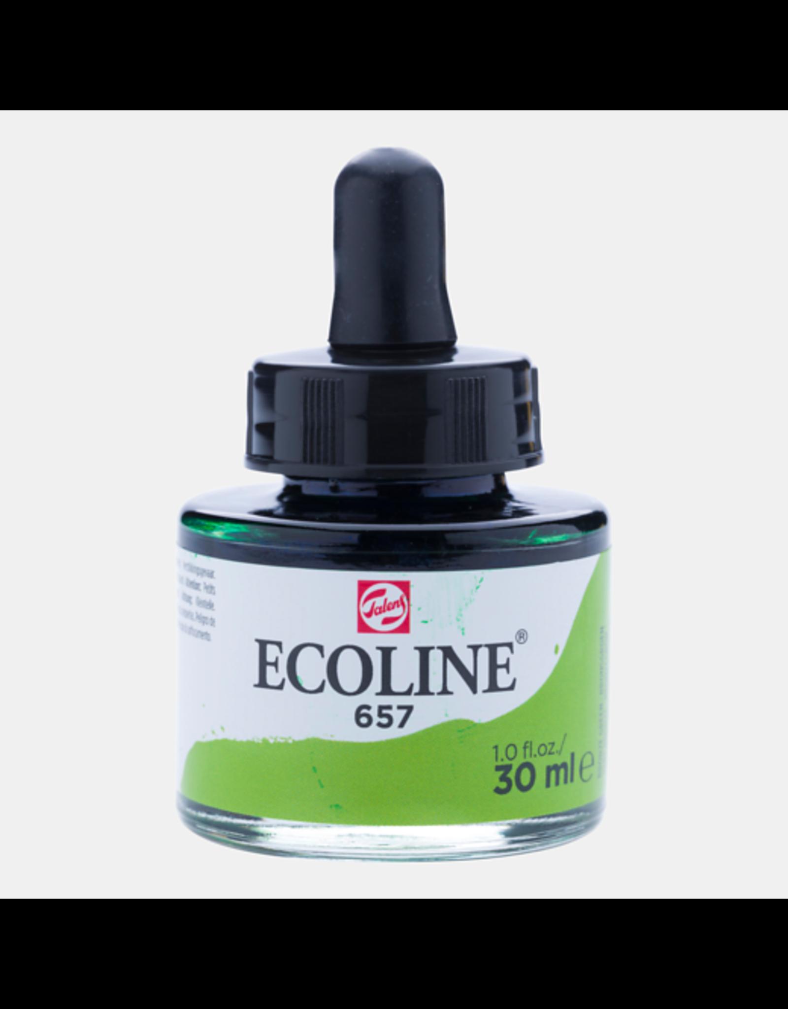 Talens Ecoline 30 ML. Bronsgroen