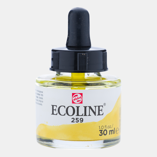Talens Ecoline 30 ML. Zandgeel