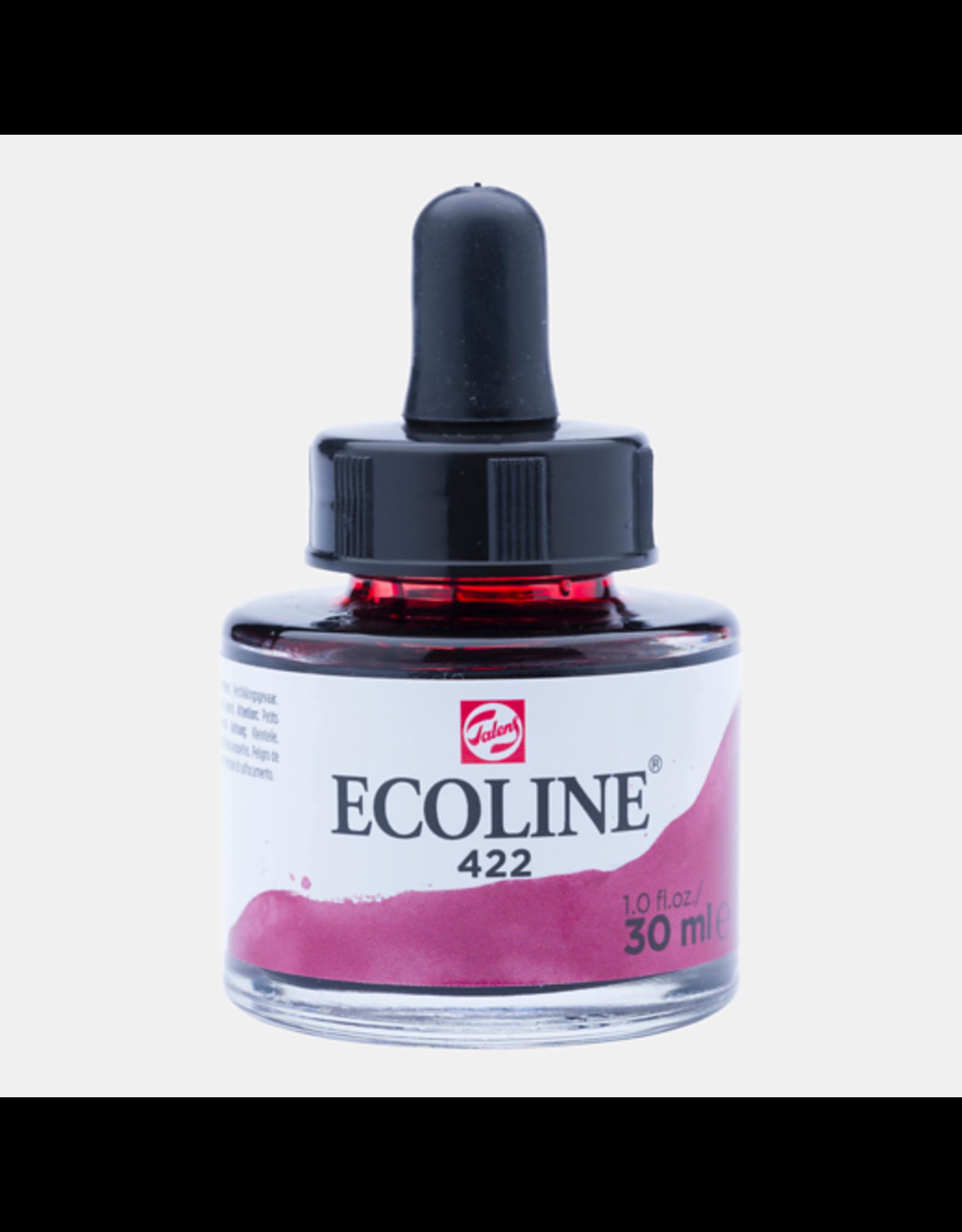 Talens Ecoline 30 ML. Roodbruin