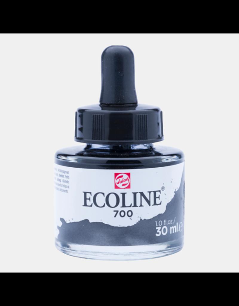 Talens Ecoline 30 ML. Zwart 700