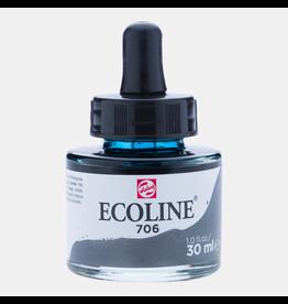 Talens Ecoline 30 ML.  Dark gray