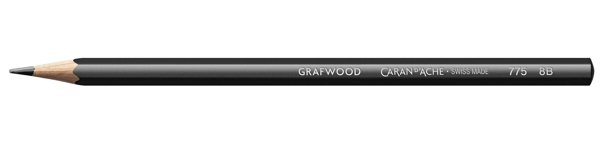 Caran d'Ache caran d'ache grafwood 8B