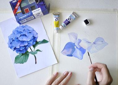 Van Gogh watercolour