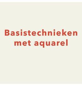 VOLZET / zaterdag 23/11 van 10.30u tot 13u - Basistechnieken met aquarel