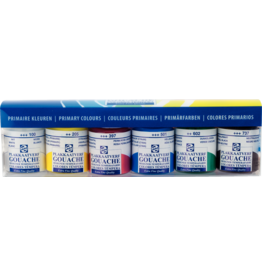 Talens Set Primary colours 6X16ML.