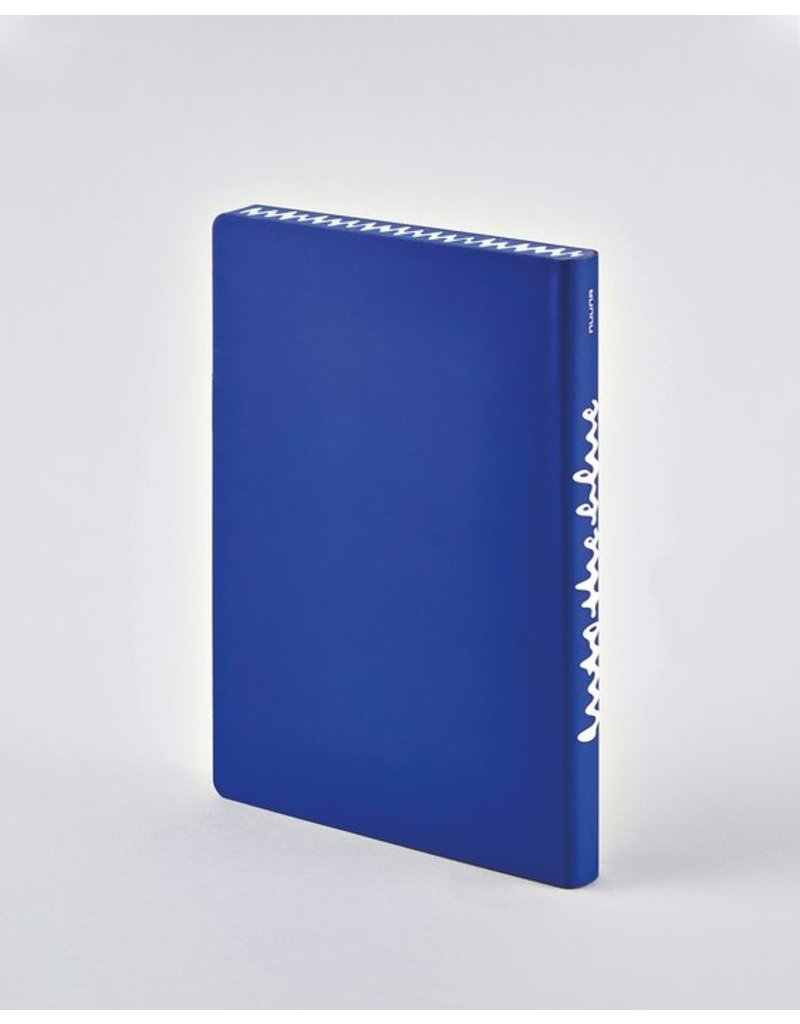 Nuuna Notebook Graphic L Into the blue