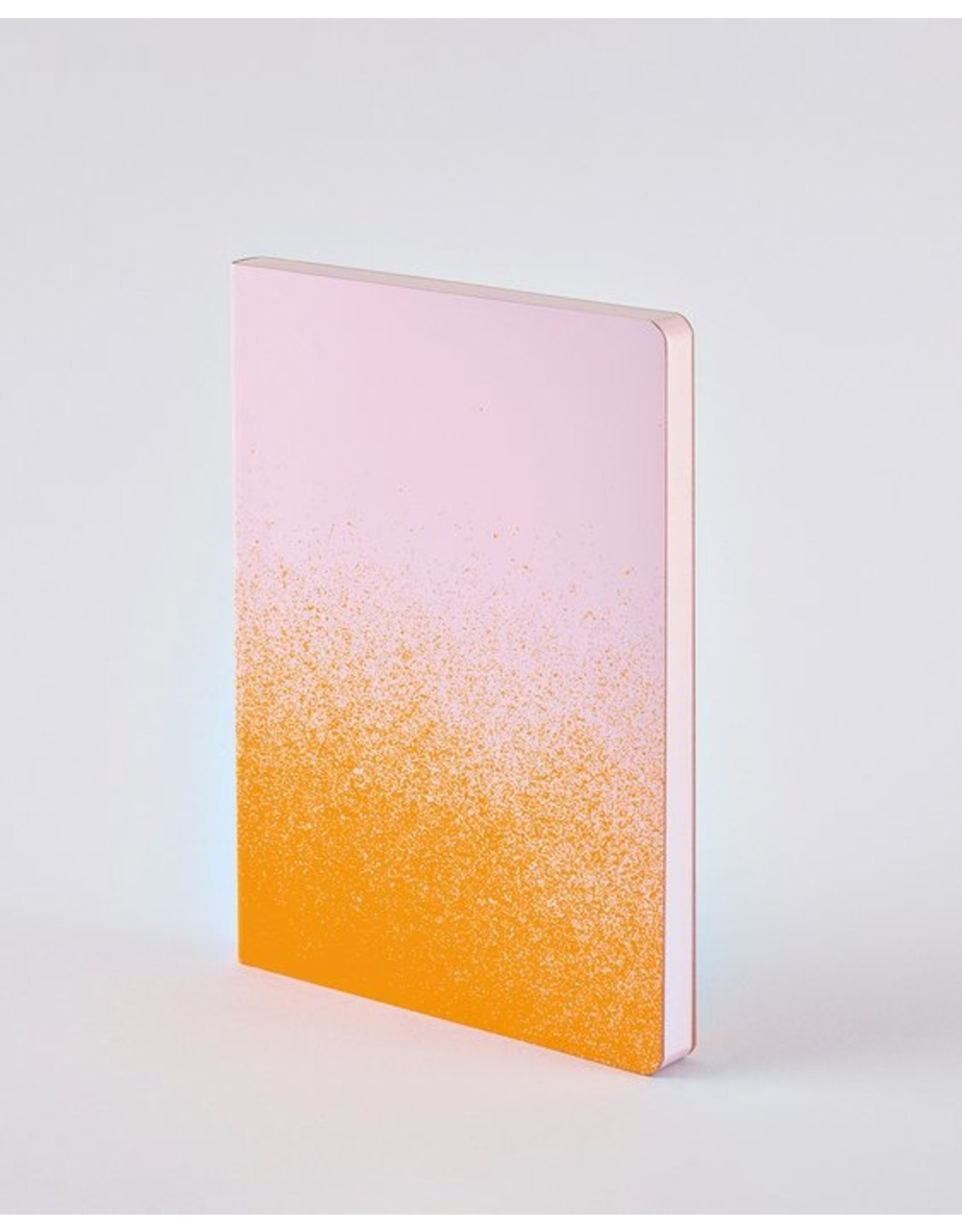 Nuuna Notebook Colour clash L Light orange dust