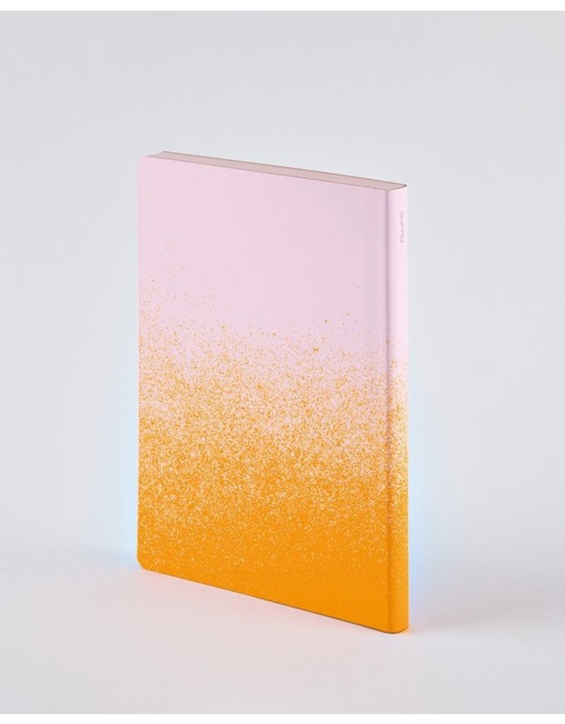Nuuna Notebook Colour clash L Light orange dust