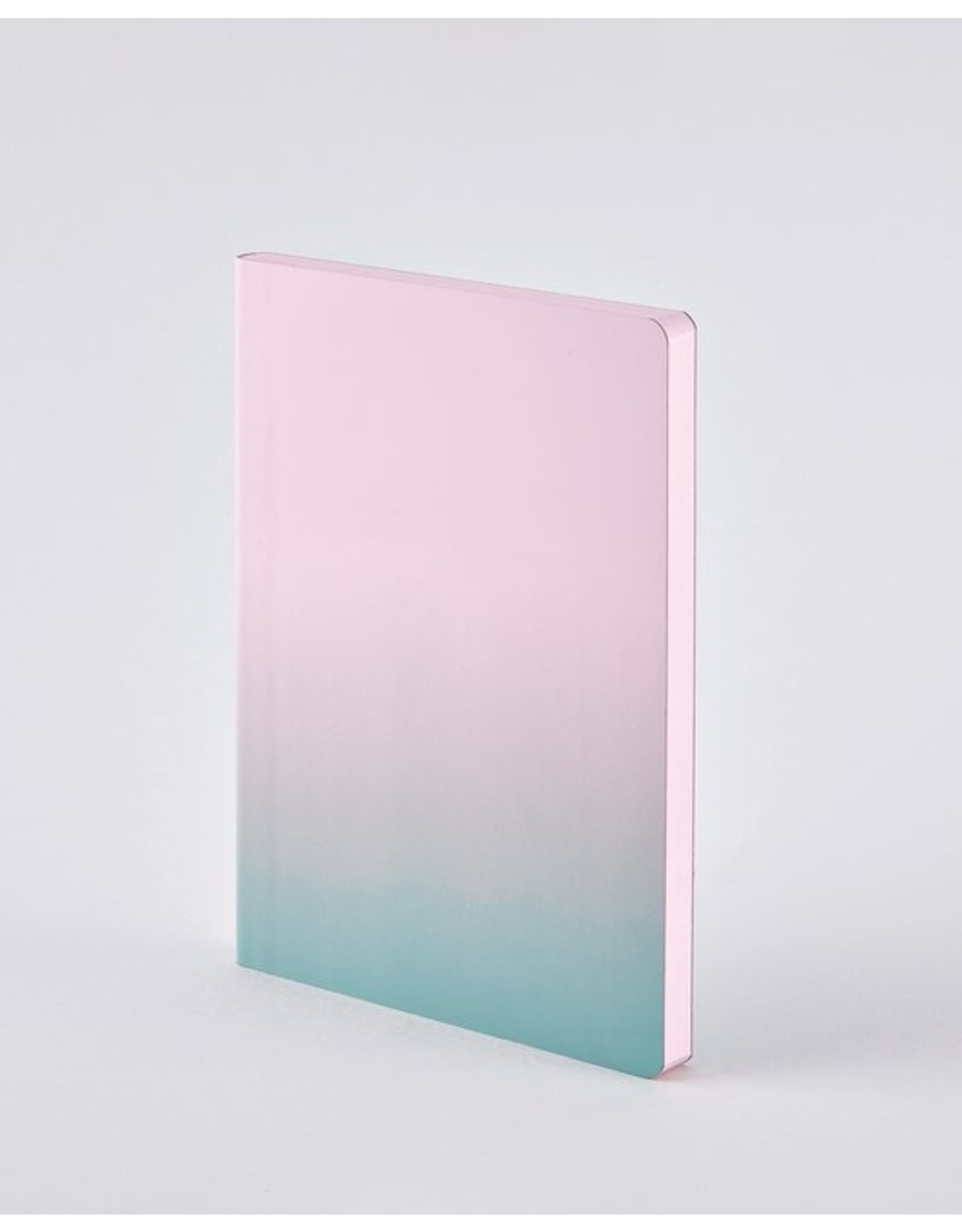 Nuuna Notebook Colour clash L Light pink haze
