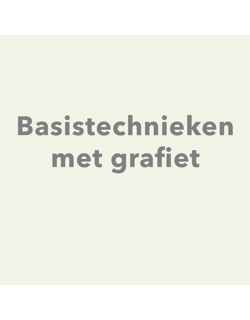 Zaterdag 15/2 van 14u tot 16.30u - Basistechnieken met grafiet