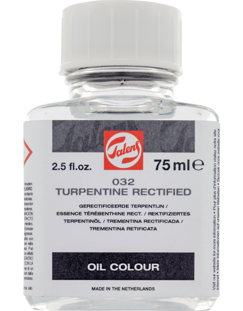 Talens Turpentine rectified 75 ML