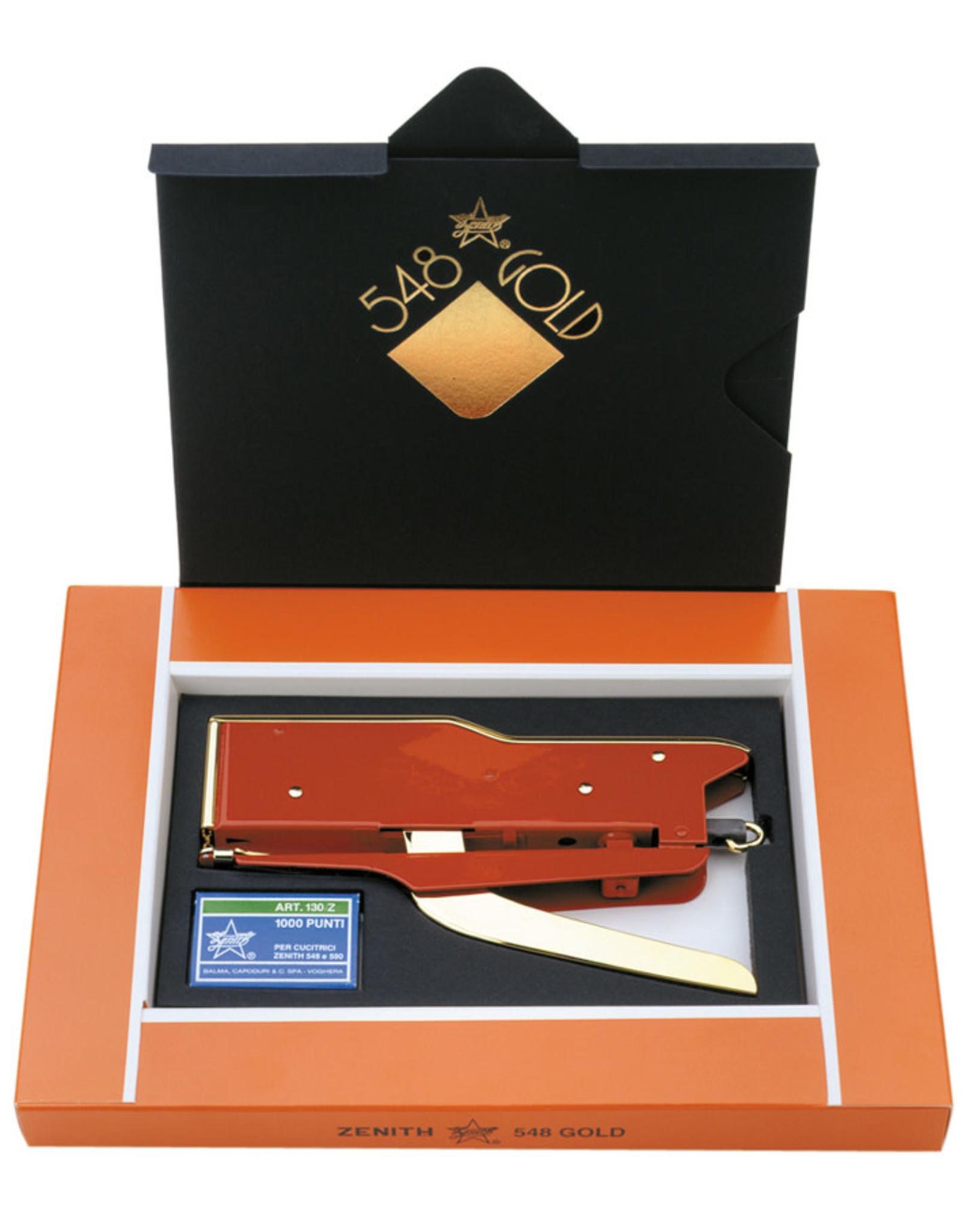 Zenith Stapler 548 Gold collection