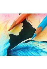 Dinsdag 3/3 van 19.30u tot 22u - Basistechnieken met het kleurpotlood