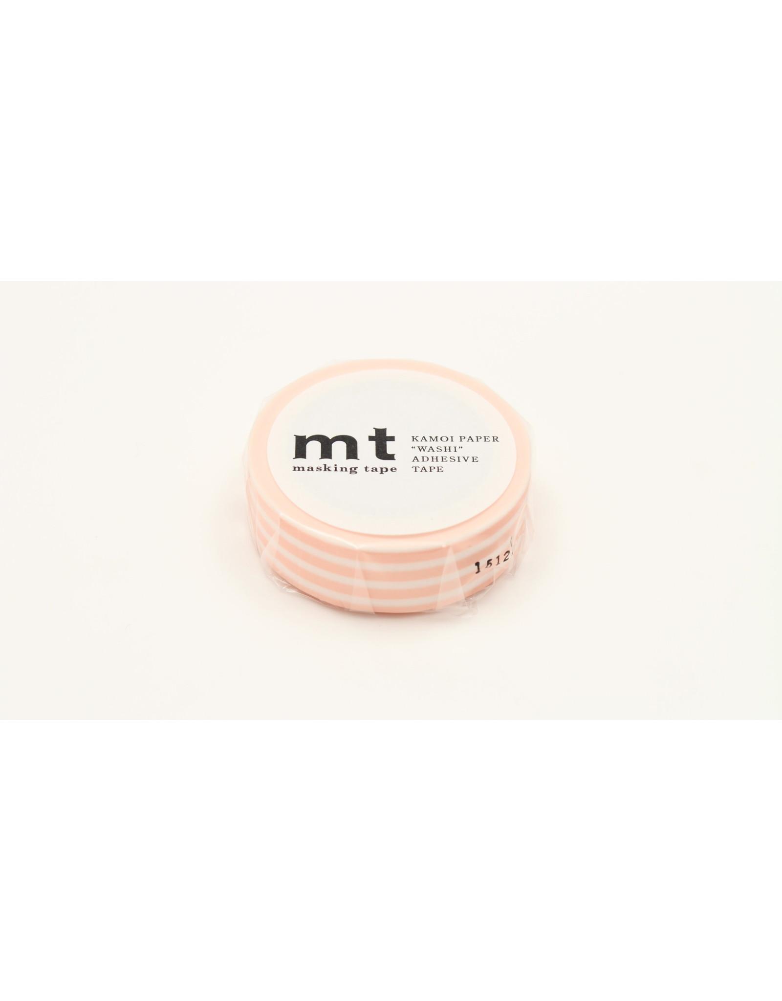 Mt Mt border peach cream
