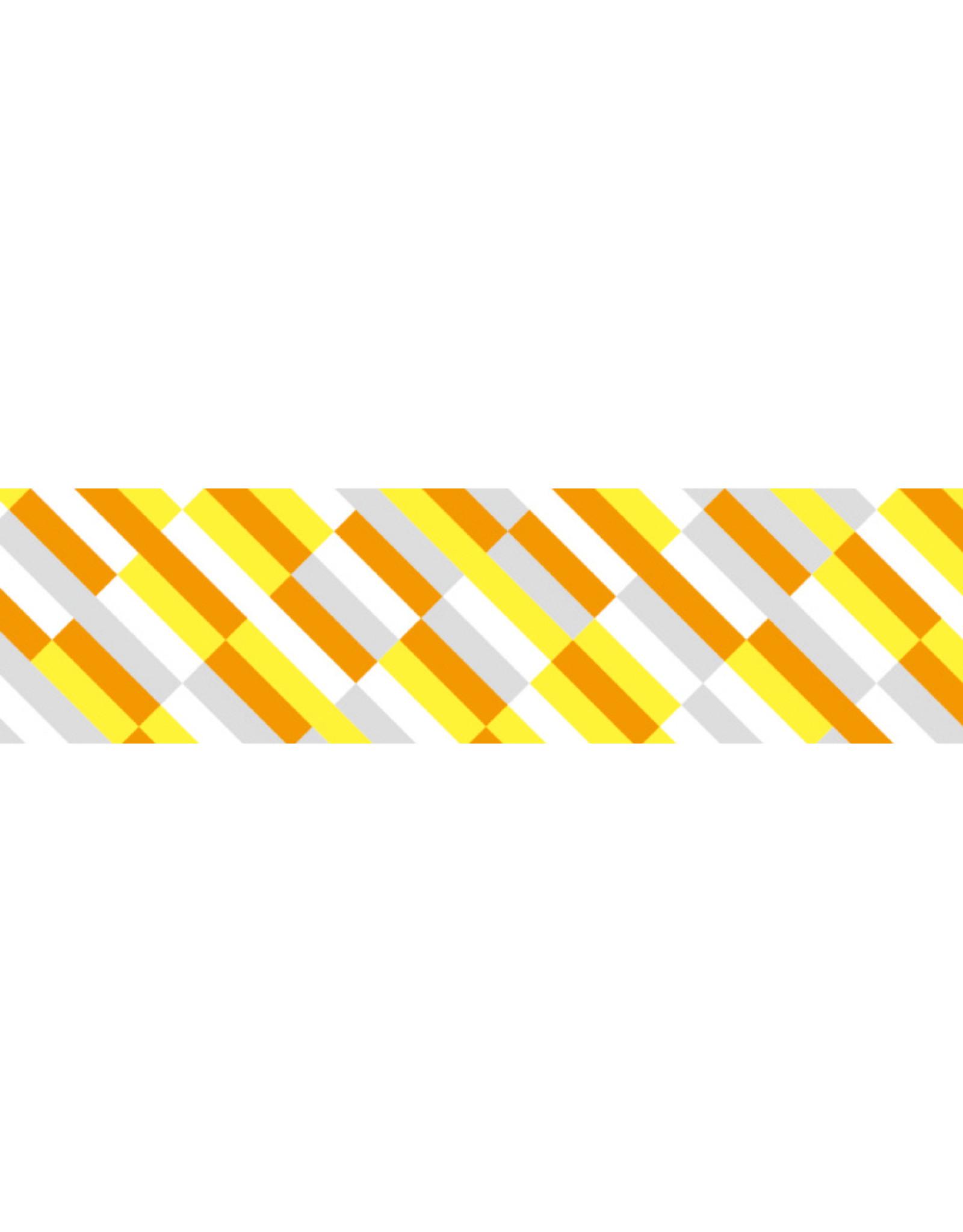 Mt Mt block stripe orange