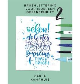 Oefenschrift 2 brushlettering