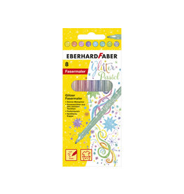 Faber Viltstiften glitter pastel