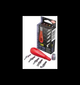 Lino cutters & handle set 5