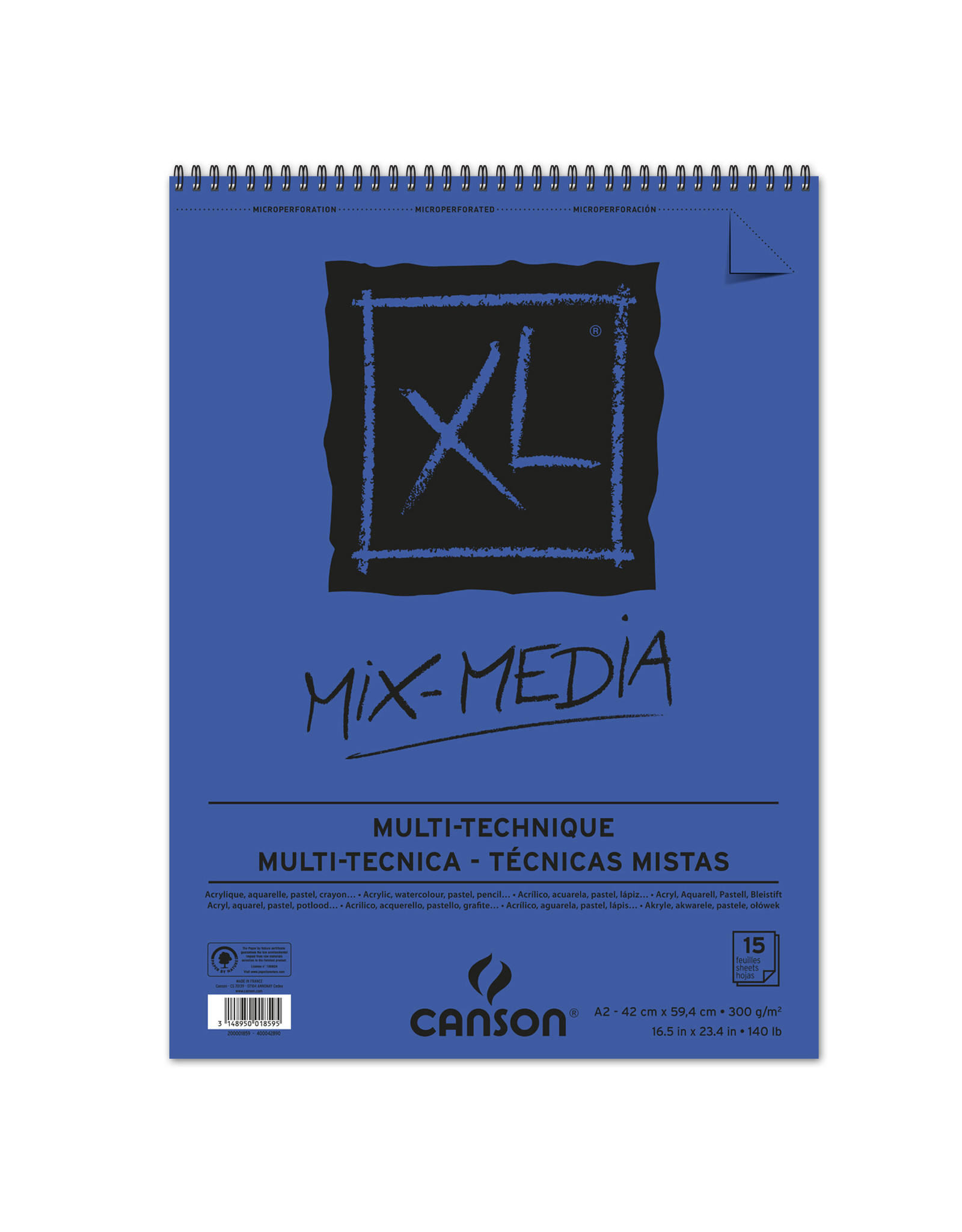 canson Xl album mix media A2