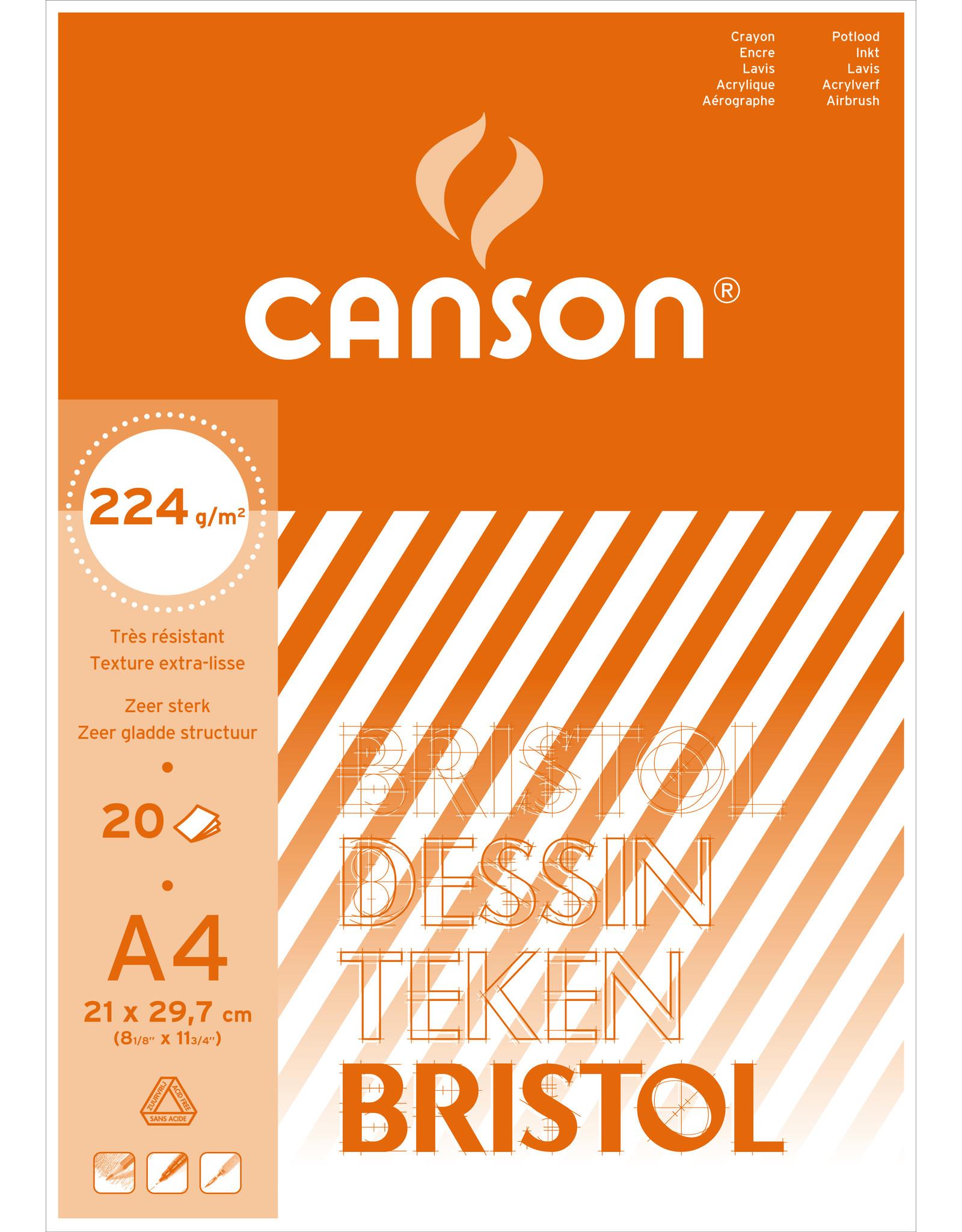 canson Bristol A3 224gr