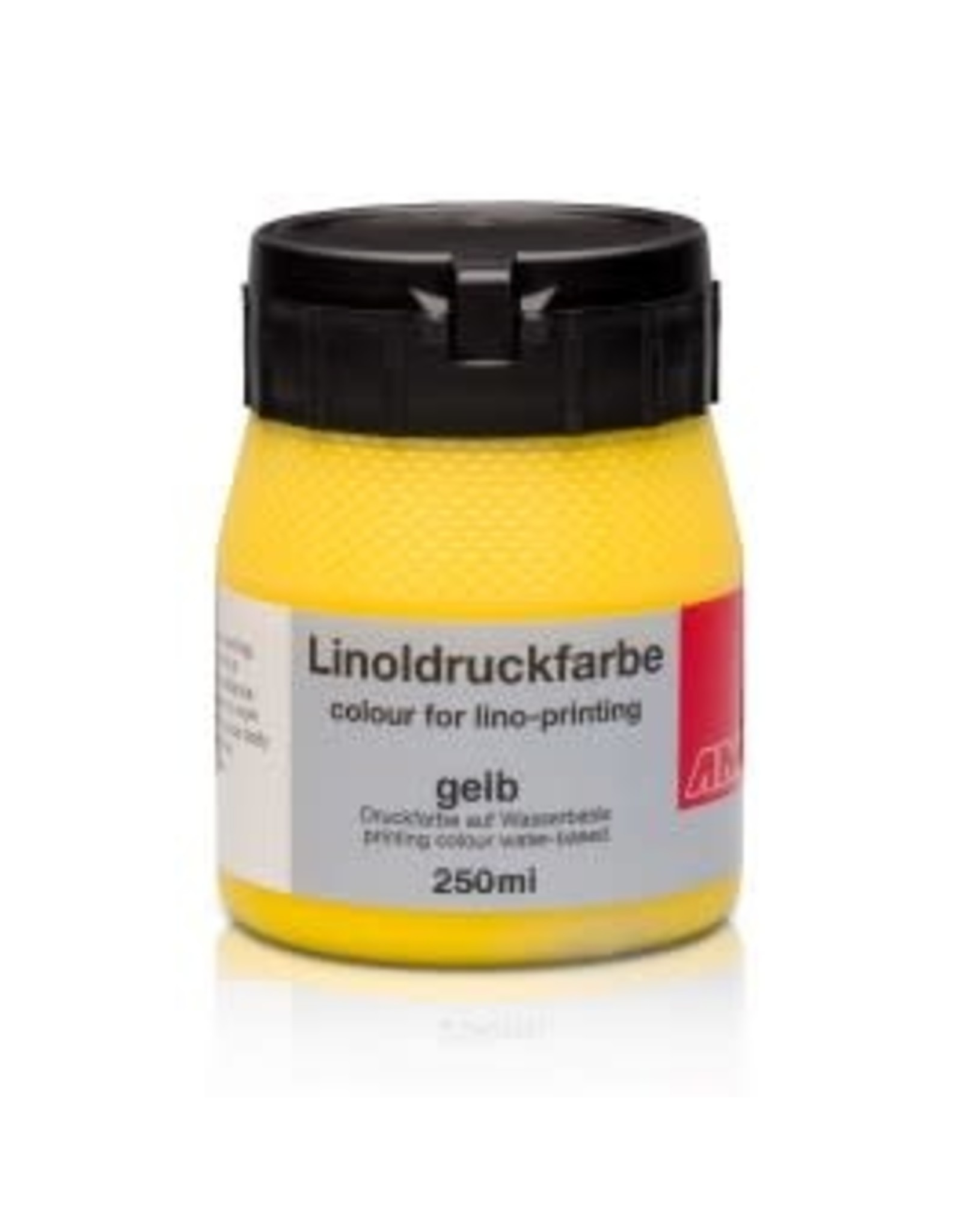 Lino drukinkt 250ml geel