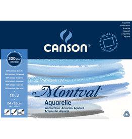 canson Montval pad 24 x 32 cm