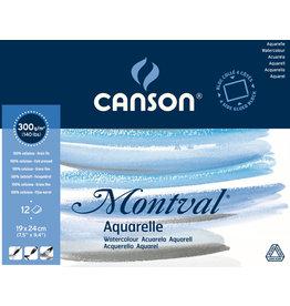 canson Montval pad 19 x 24 cm