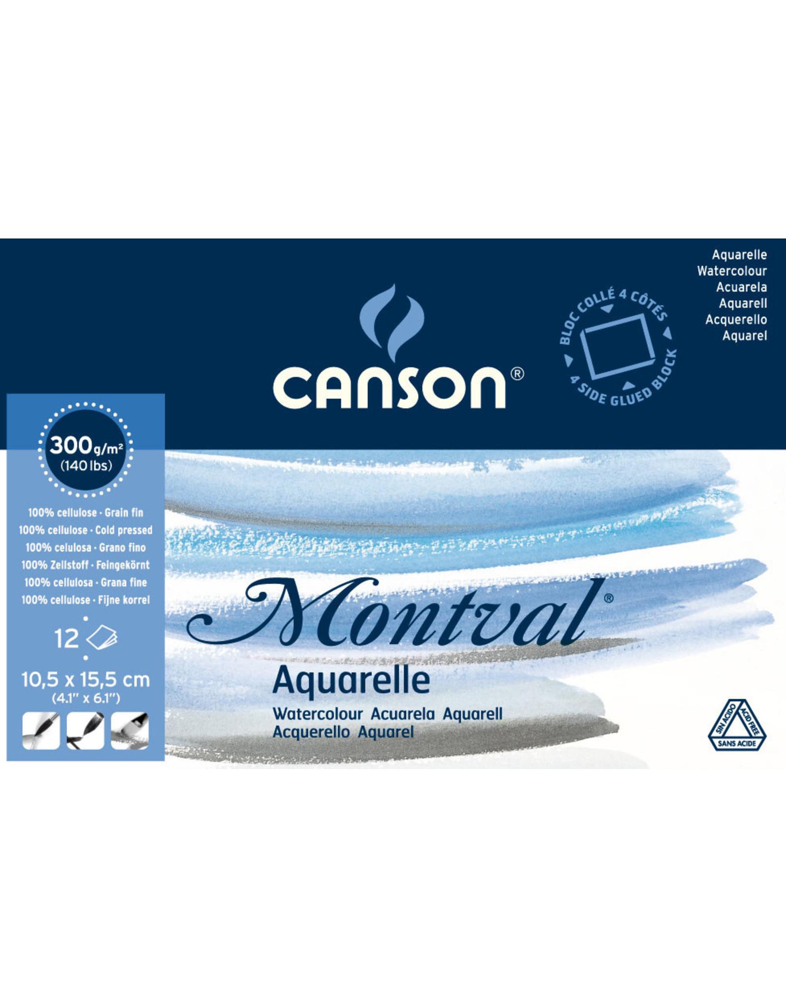canson Montval blok 10,5 x 15,5 cm