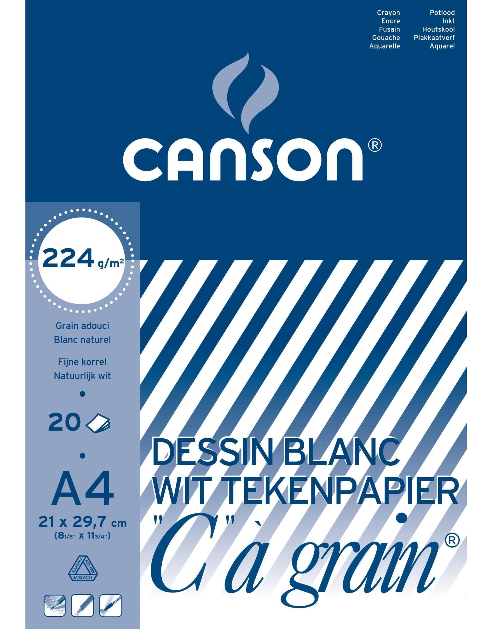 canson C a grain A4