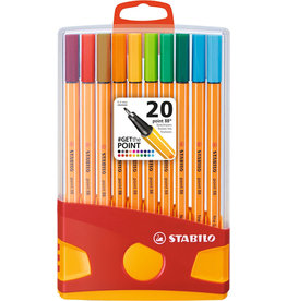 Pen 88 set 20 pastel