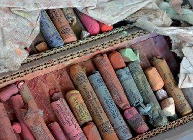 Rembrandt pastel